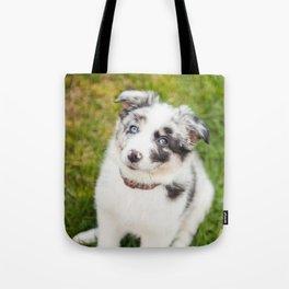 puppy Ben Tote Bag