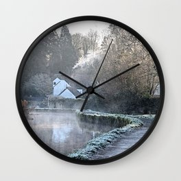 Causeway To The Chequers Wall Clock