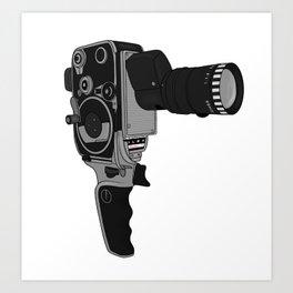 BOLEX Reflex P2 Film Camera Art Print