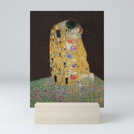 Klimt's The Kiss Mini Art Print