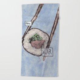 War / Raw Beach Towel