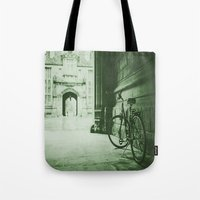 jewish Tote Bags featuring Break Time by Brown Eyed Lady