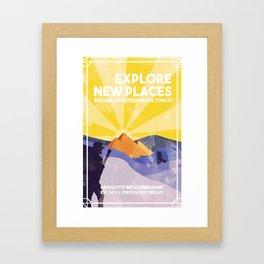 Become a Cursebreaker Today! Framed Art Print