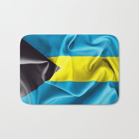 Bahamas Flag Bath Mat