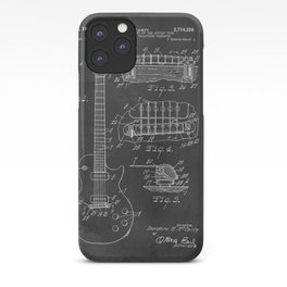 Guitar Patent Gibson Vintage Les Paul iPhone Case