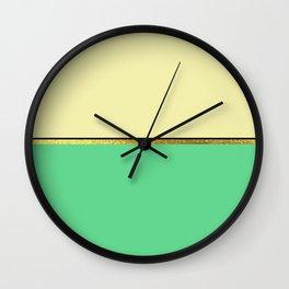 Minimalist Spring II Wall Clock