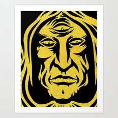 join the cult Art Print