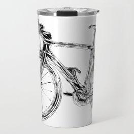 Wooden Bicycle Travel Mug
