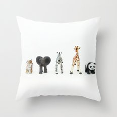 ANIMALS COLLECTION N2 Throw Pillow