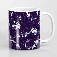 milky way Mugs featuring Milky Way by Call Me Chartreuse