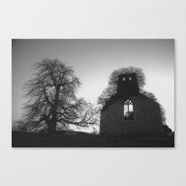 Abandoned Church, Kells, Co. Meath, Ireland Canvas Print