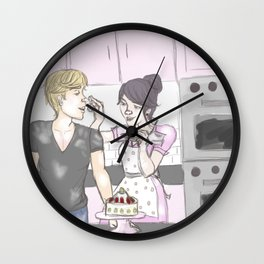 Baking Fun Wall Clock