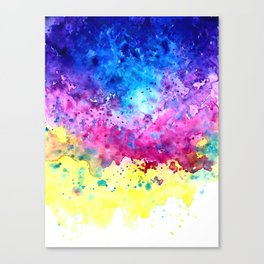 Splatter Canvas Print