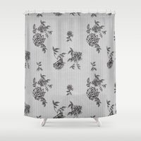 wallpaper Shower Curtains featuring WallpAper by  Wiipo