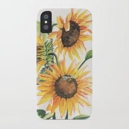 Sunny Sunflowers iPhone Case
