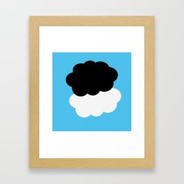 The Fault in our Stars  °  clouds Framed Art Print