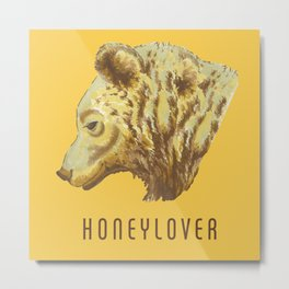 Honeylover Metal Print