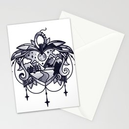 heart path Stationery Cards