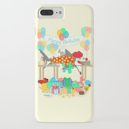 The Birthday Party Clown Shark iPhone Case
