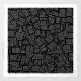 Literary Overload II Art Print