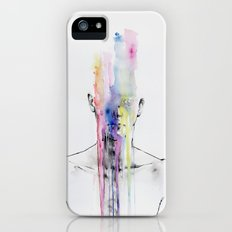 All my art is on you but you still don't hear me Slim Case iPhone (5, 5s)