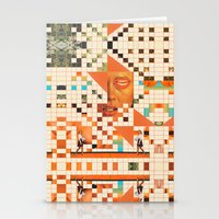 poem Stationery Cards featuring Orange poem by Mariano Peccinetti