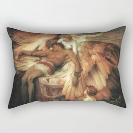 Mourning for Icarus - Draper Herbert James Rectangular Pillow