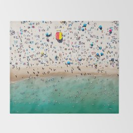 Bondi Life Throw Blanket