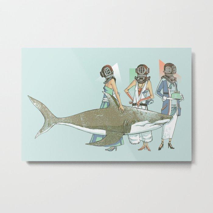 In Oceanic Fashion Metal Print