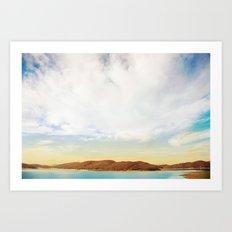 Daydream Away Art Print