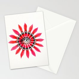 DESERT PEA EYE - Soul Discovery Stationery Cards