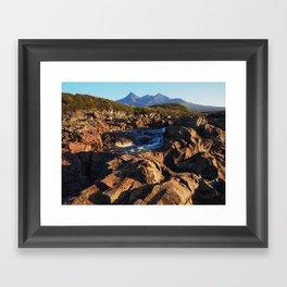 Isle of Skye - Sligachan - Black Cuillin Framed Art Print