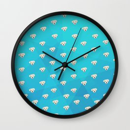 Puppies Puppies and More Puppies Wall Clock