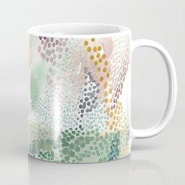 Flower burst; gold Coffee Mug