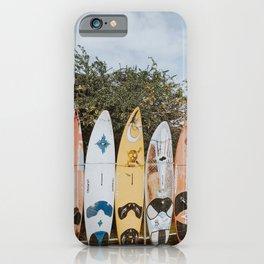 lets surf vii / maui, hawaii iPhone Case