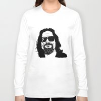 the big lebowski Long Sleeve T-shirts featuring The Big Lebowski by OrsoCiock