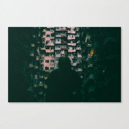 Hong Kong Darklife Canvas Print