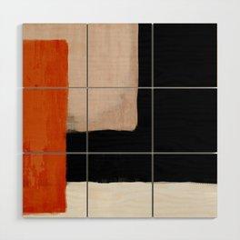 abstract minimal 14 Wood Wall Art
