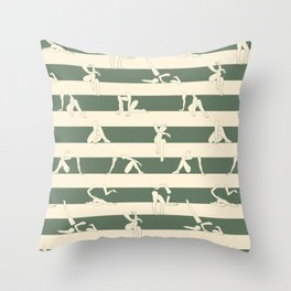 Leah 2 Throw Pillow