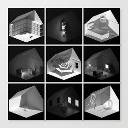 ourhouse.blend [surreal remix] Canvas Print