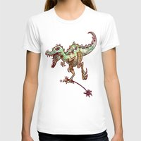 dino T-shirts featuring dino  by Bunny Noir