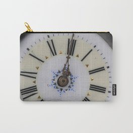 Portrait of an old watch face Carry-All Pouch