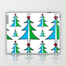 Christmas Tree Pattern Laptop & iPad Skin