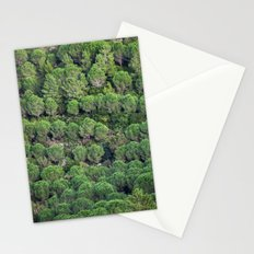 Young pine forest 6809 Stationery Cards