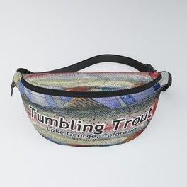 Tumbling Trout Logo - Rainbow Fanny Pack