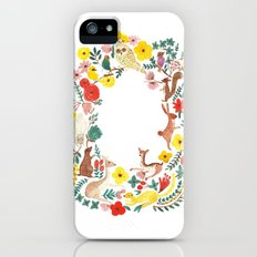 in the forest iPhone (5, 5s) Slim Case