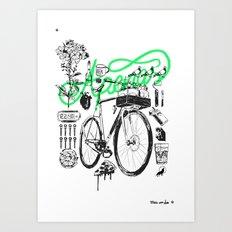 Apenas Art Print