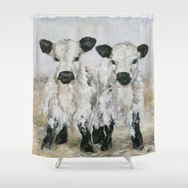 Freckles and Speckles Shower Curtain
