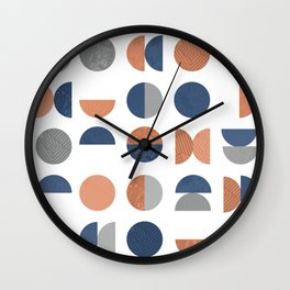 Geometric Circles Wall Clock