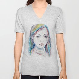 Never say a word Unisex V-Neck